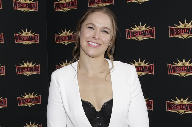 Ronda Rousey was announced a playable character in WWE 2K19. File Photo by John Angelillo/UPI