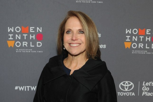 Katie Couric arrives on the red carpet at Tina Brown's eighth annual Women in the World Summit on April 5 in New York City. She turns 62 on January 7. File Photo by George Napolitano/UPI