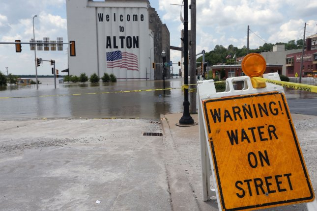 Historic flooding during the spring and summer began last fall when widespread heavy rain fell from northern Louisiana through the Ohio and Tennessee valleys. FilePhoto by Bill Greenblatt/UPI
