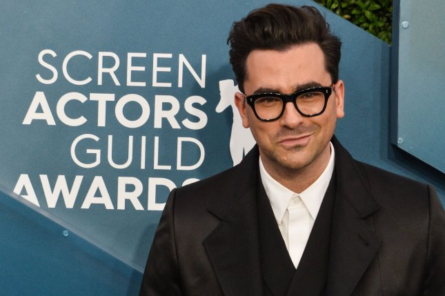 Dan Levy hosted Saturday Night Live this weekend. File Photo by Jim Ruymen/UPI