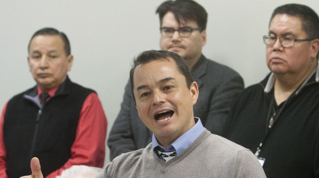 Assembly of First Nations Chief Shawn Atleo UPI/Heinz Ruckemann