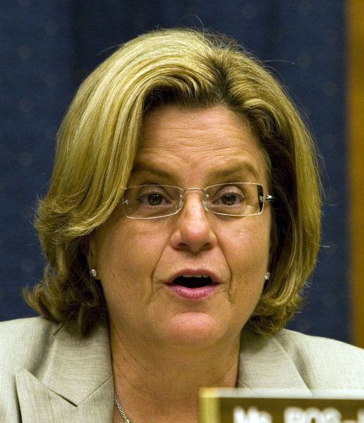U.S. Rep. Ileana Ros-Lehtinen, R-Fla., chairwoman for the House Foreign Affairs Committee, said she wanted Washington to put economic pressure on the Cuban government to prevent it from exploring its deep waters. (UPI Photo/David Brody/Files)