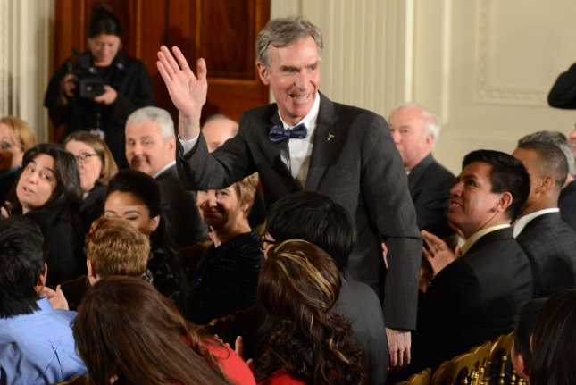 Bill Nye at the 2015 White House Science Fair in Washington, DC on March 23, 2015. The scientist is getting a new Netflix talk show. File Photo by Pat Benic/UPI