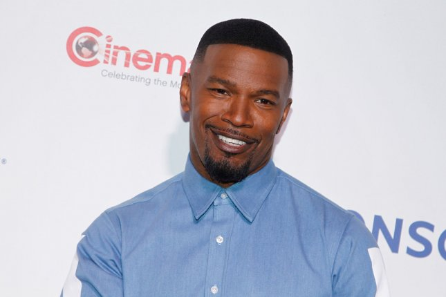 Jamie Foxx is set to portray comic book character Spawn in an upcoming film by creator Todd McFarlane. File Photo by James Atoa/UPI