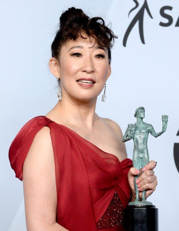 Sandra Oh plays Eve Polastri on Killing Eve. File Photo by Jim Ruymn/UPI