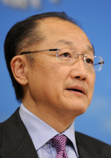 World Bank President Jim Yong Kim will unveil a $16 billion plan to help Africa adapt to climate change next week at a Paris summit meeting. File photo by Mike Theiler/UPI