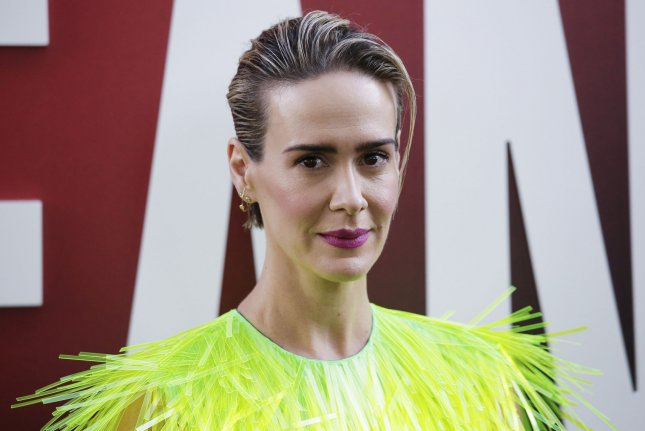 Sarah Paulson appears in a new trailer for American Horror Story: Apocalypse alongside Emma Roberts. File Photo by John Angelillo/UPI