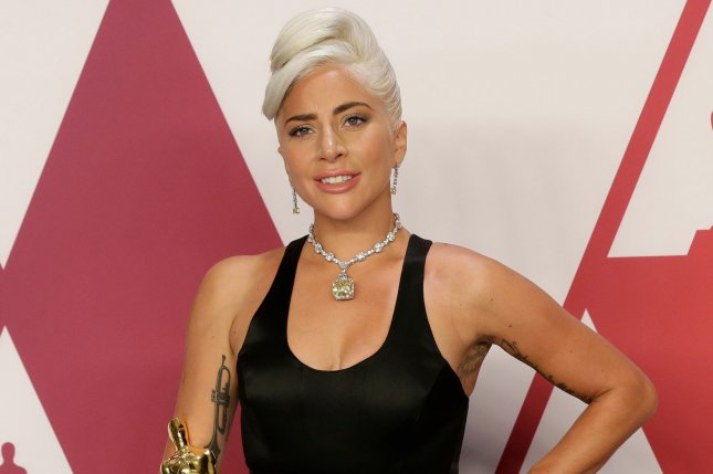 Lady Gaga denied on Twitter that she is pregnant. File Photo by John Angelillo/UPI