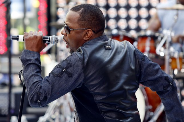 Bobby Brown performs on the NBC Today Show at Rockefeller Center in New York City on May 28, 2012. File Photo by UPI/John Angelillo