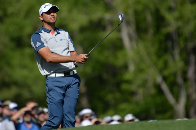 Defending champion Jason Day of Australia withdrew from the World Golf Championships-Dell Technologies Match Play after six holes on Wednesday to be with his ailing mother. File Photo by Kevin Dietsch/UPI