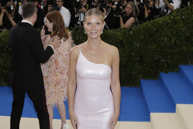 Gwyneth Paltrow found Halloween inspiration in her 1995 movie Seven. File Photo by John Angelillo/UPI