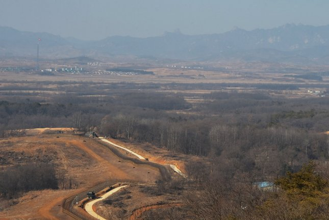 South Korean authorities are concerned African swine fever may have traveled as far as Kaesong, North Korea (pictured), following an outbreak in North Korea's Jagang Province. File Photo by Keizo Mori/UPI