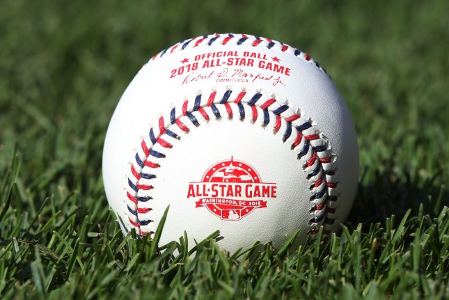The 2019 MLB All-Star Game takes place July 9. The Home Run Derby is July 8. File Photo by Bill Greenblatt/UPI