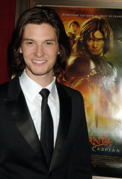 Actor Ben Barnes, who plays Prince Caspian, attends the world premiere of his new film The Chronicles of Narnia:Prince Caspian at New York's Ziegfeld Theatre on May 7, 2008. (UPI Photo/Ezio Petersen)