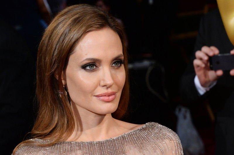 Angelina Jolie. UPI/Jim Ruymen