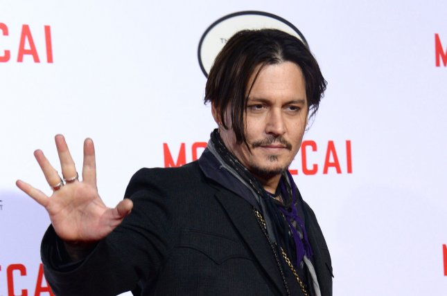 Johnny Depp at the Los Angeles premiere of 'Mortdecai' on January 21. The actor stars as Whitey Bulger in 'Black Mass.' File photo by Jim Ruymen/UPI