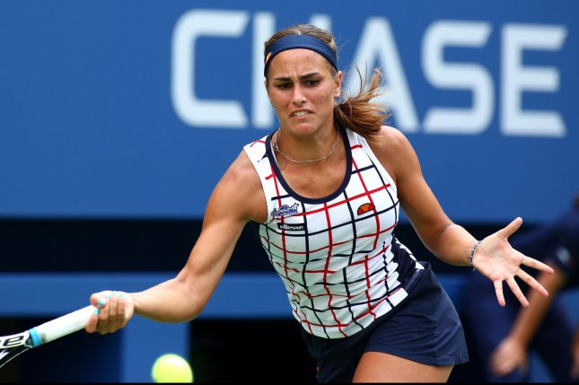 Monica Puig of Puerto Rico. UPI/Monika Graff