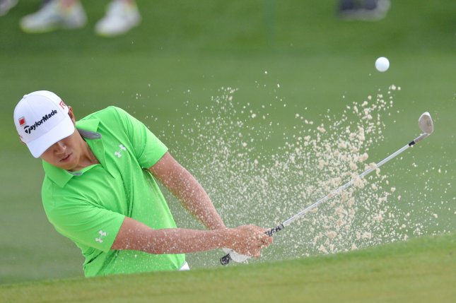 James Hahn won the 2016 Wells Fargo Championship in a playoff. File photo by Kevin Dietsch/UPI