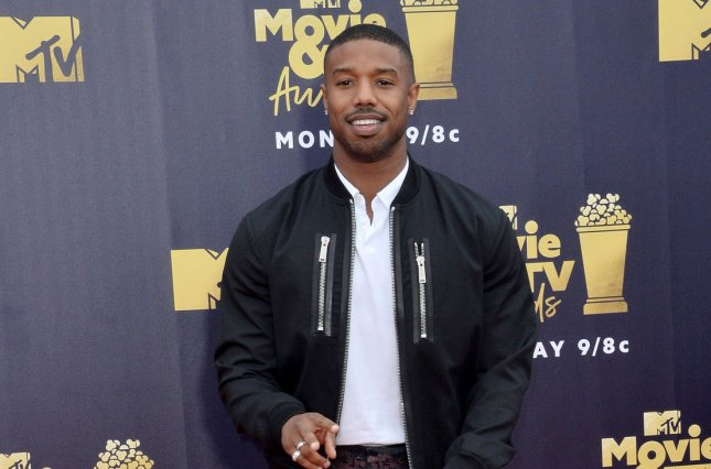 Michael B. Jordan stars in the new trailer for Creed II alongside Sylvester Stallone and Tessa Thompson. Photo by Jim Ruymen/UPI