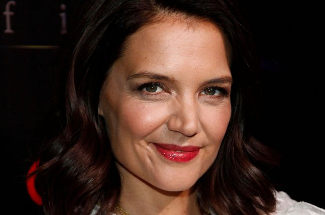 Katie Holmes discussed Suri, her daughter with Tom Cruise, and her experience as a young mom in the December issue of Elle U.K. File Photo by James Atoa/UPI
