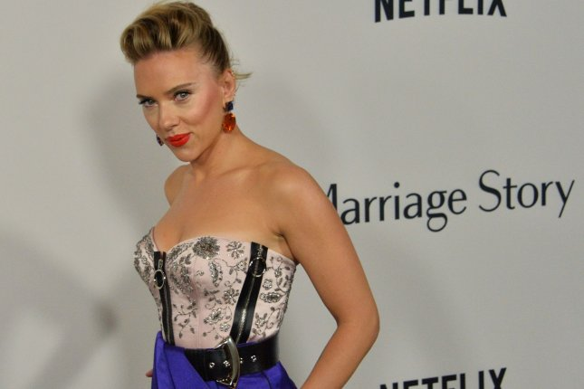 Marriage Story and Jojo Rabbit actress Scarlett Johansson was nominated for two Oscars in different categories Monday. File Photo by Jim Ruymen/UPI