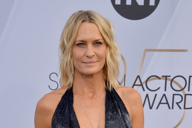 Robin Wright directs and stars in Land, which premiered Sunday at the Sundance Film Festival. File Photo by Jim Ruymen/UPI