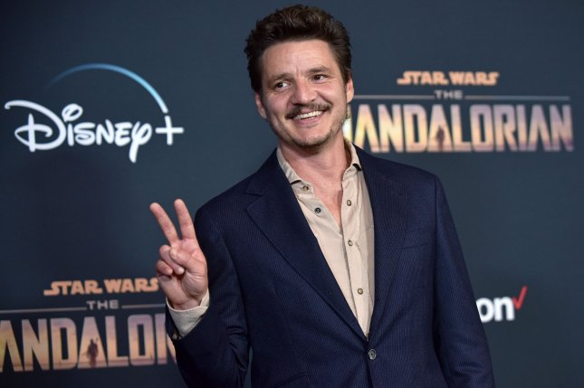 The Mandalorian star Pedro Pascal arrives for the premiere of the series on November 2019. The Mandalorian was nominated for two CAS Awards. File Photo by Chris Chew/UPI