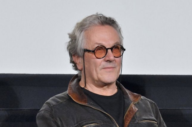George Miller promotes 'Mad Max: Fury Road' in Tokyo on June 5. The director may helm the 'Man of Steel' sequel. File photo by Keizo Mori/UPI