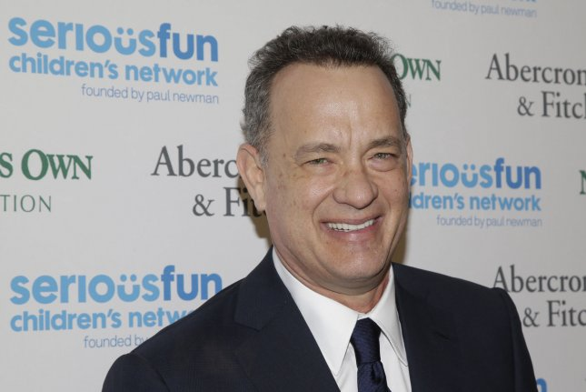 Tom Hanks at the Serious Fun Children's Network An Evening of SeriousFun Celebrating the Legacy of Paul Newman on March 2, 2015. The actor was named America's favorite movie star in a new Harris poll. File Photo by John Angelillo/UPI