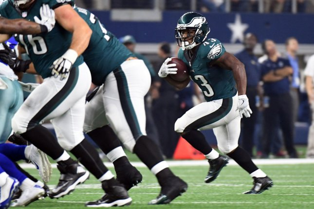 Philadelphia Eagles running back Darren Sproles (43) rushes against the  Dallas Cowboys during the first half on October 30 dd2a62842