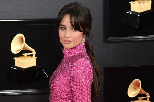 Camila Cabello arrives for the 61st annual Grammy Awards on Sunday. Photo by Jim Ruymen/UPI