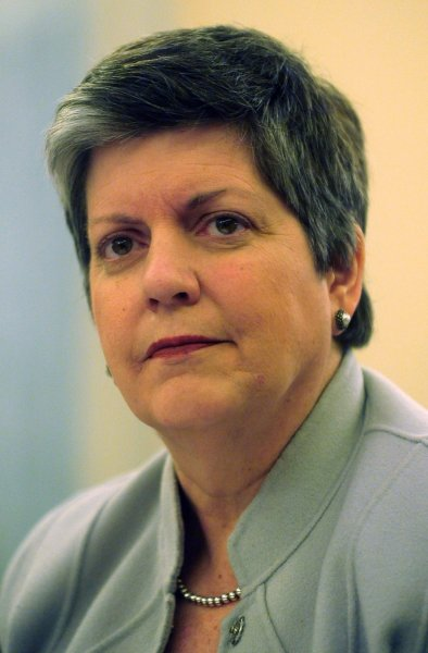 Homeland Security Secretary Janet Napolitano testifies before a Senate Homeland Security Committee hearing on transportation Security in Washington on December 2, 2009. UPI/Kevin Dietsch