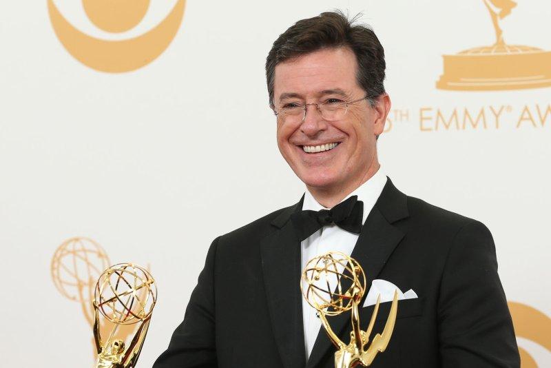 Stephen Colbert. UPI/Danny Moloshok