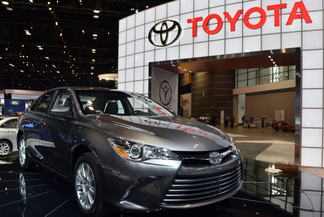 Two strong earthquakes in Japan led to Toyota suspending production in the country in nearly all plants. The Japanese carmaker will resume production in most plants by Thursday. File photo by Brian Kersey/UPI