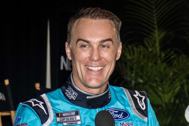 Kevin Harvick now has a Cup Series-best six wins this season after he won twice over the weekend at Michigan International Speedway in Brooklyn, Mich. File Photo by Edwin Locke/UPI