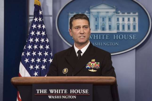 Witnesses said former White House physician Ronny Jackson fostered an environment of fear and demoralization during his time as former President Donald Trump's personal doctor. File Photo by Kevin Dietsch/UPI