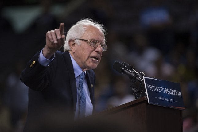 Vermont Sen. Bernie Sanders won the Indiana primary, narrowing Hillary Clinton's wide delegate lead. Sanders is not likely to clinch the nomination, but it is possible with enough landslide victories in remaining primaries and by convincing superdelegates to side with him. Photo by Molly Riley/UPI