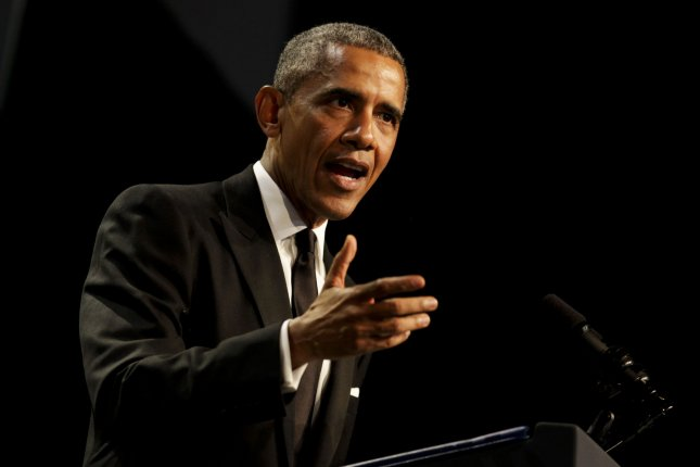 U.S. President Barack Obama, pictured, and Russian President Vladimir Putin are scheduled to sit down at an official meeting Monday at the United Nations General Assembly, the White House and Kremlin announced Thursday. The leaders haven't formally met since June 2014. File photo by Aude Guerrucci/UPI