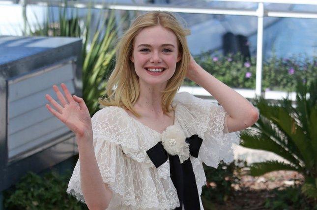 Elle Fanning at a Cannes International Film Festival photocall for The Neon Demon on Friday. Photo by David Silpa/UPI