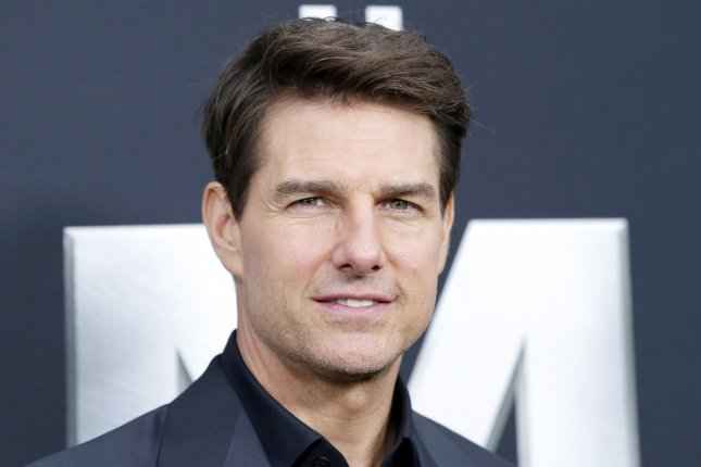 Tom Cruise arrives on the red carpet at the The Mummy New York Fan Event on June 6. Cruise has fun on river cruise based on his career alongside James Corden on The Late Late Show. File Photo by John Angelillo/UPI
