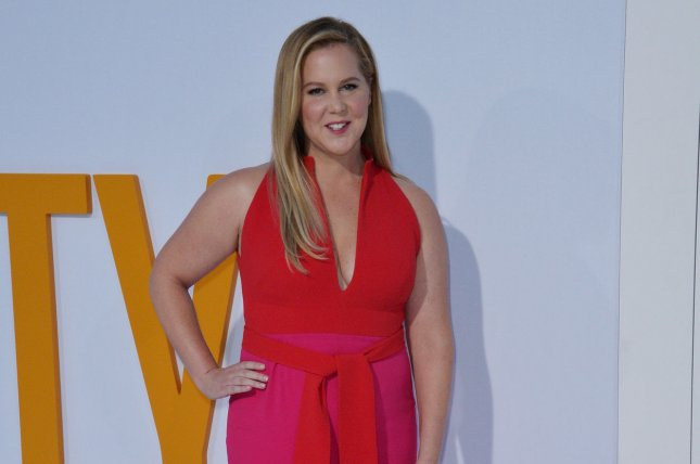 Amy Schumer posted on social media that she was hospitalized for hyperemesis gravidarum. File Photo by Jim Ruymen/UPI