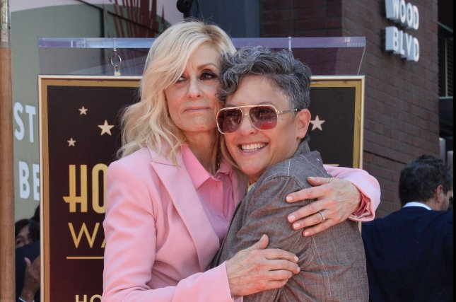 Judith Light (L) stars in the Transparent: The Musical Finale created by Jill Soloway, premiering Friday on Amazon. Photo by Jim Ruymen/UPI