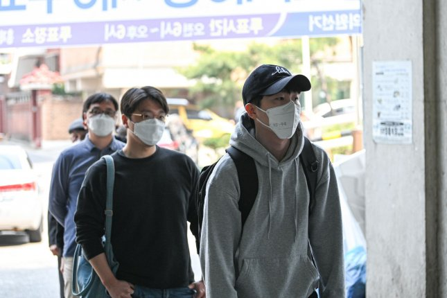 South Korea reported no new local infections of COVID-19 on Thursday for the first time since February. Photo by Thomas Maresca/UPI