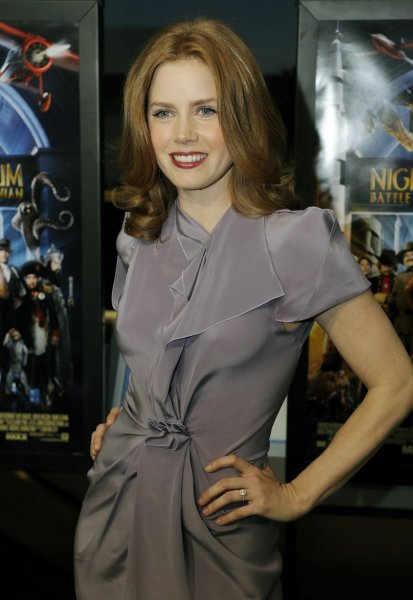 Amy Adams arrives for a screening of Night at the Museum: Battle of the Smithsonian at the Smithsonian National Air and Space Museum in Washington on May 14, 2009. (UPI Photo/Alexis C. Glenn)