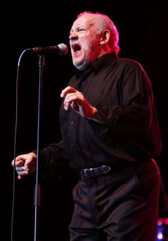 Joe Cocker performs in concert at the Pompano Beach Amphitheater in Pompano Beach, Florida on April 18, 2009. (UPI Photo/Michael Bush)