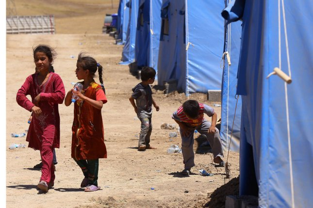 Aids groups are urging wealthy nations to admit more Syrian refugees, a unified letter from 36 non-governmental organizations said. UPI/ Ceerwan Aziz