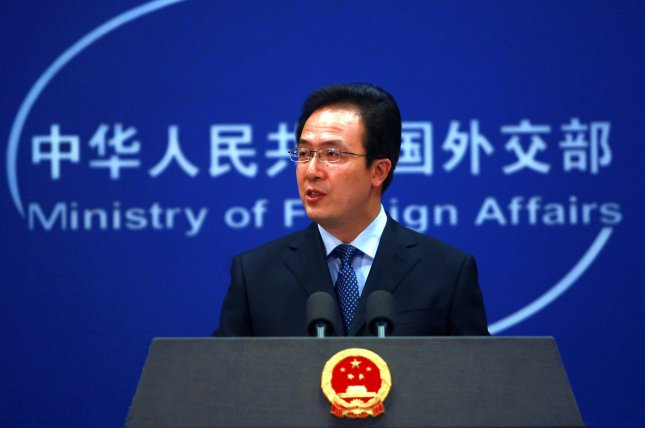 China's Foreign Ministry spokesman Hong Lei told reporters Friday Beijing is to support U.N. sanctions in response to the North's fourth nuclear test. File Photo by Stephen Shaver/UPI