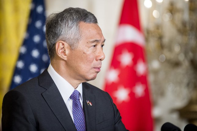 Singapore Prime Minister Lee Hsien Loong said in a televised address on Tuesday the country will hold a general election in July. File Photo by Pete Marovich/UPI