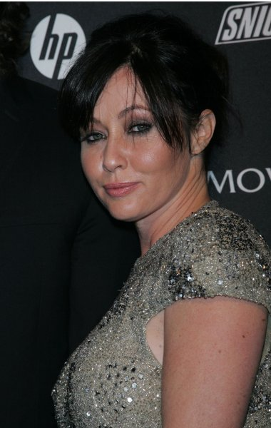 Shannen Doherty arrives for the GQ Gentlemen's Ball at the Edison Ballroom in New York on October 27, 2010. File Photo by Laura Cavanaugh/UPI