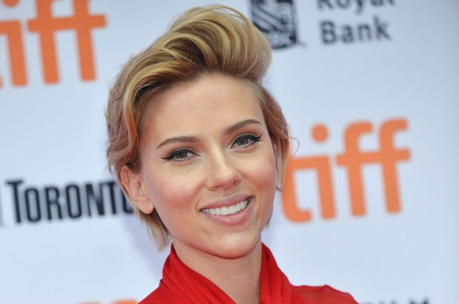 Scarlett Johansson at the Toronto International Film Festival premiere of Sing on September 11. The actress plays Natasha Romanoff, aka Black Widow, in the Marvel cinematic universe. File Photo by Christine Chew/UPI